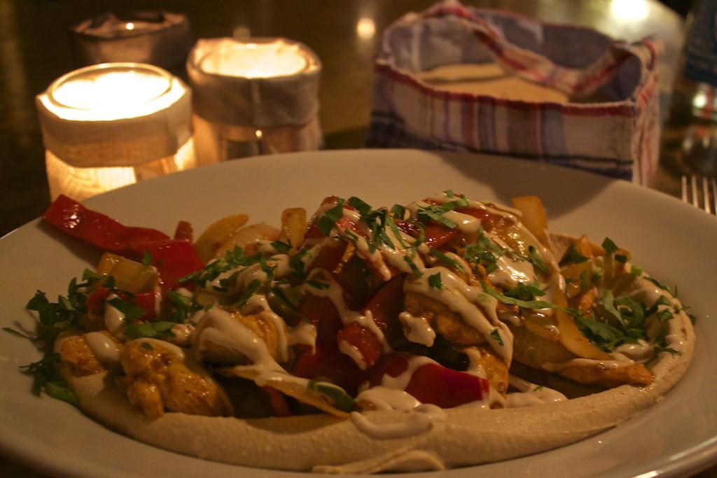 25 Hours Hotel Hamburg Neni Chicken and Hummus