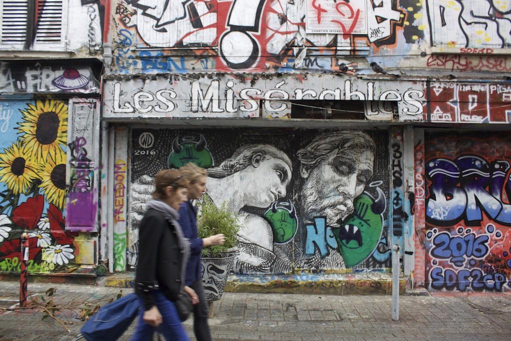 Paris Photos - Belleville Street Art