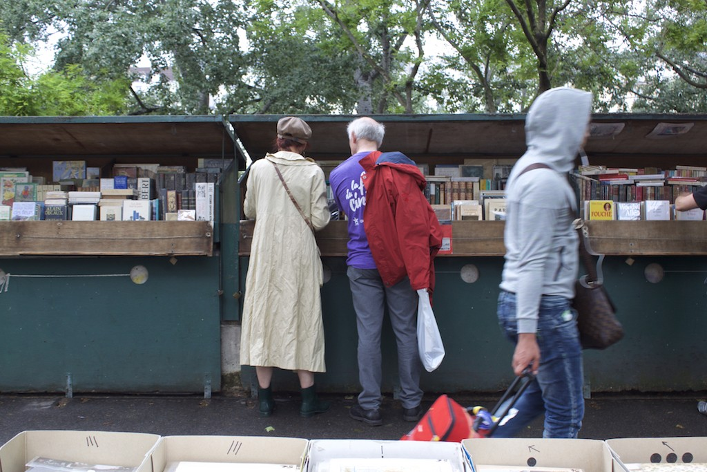 Paris Photos - Book Stand on Seine