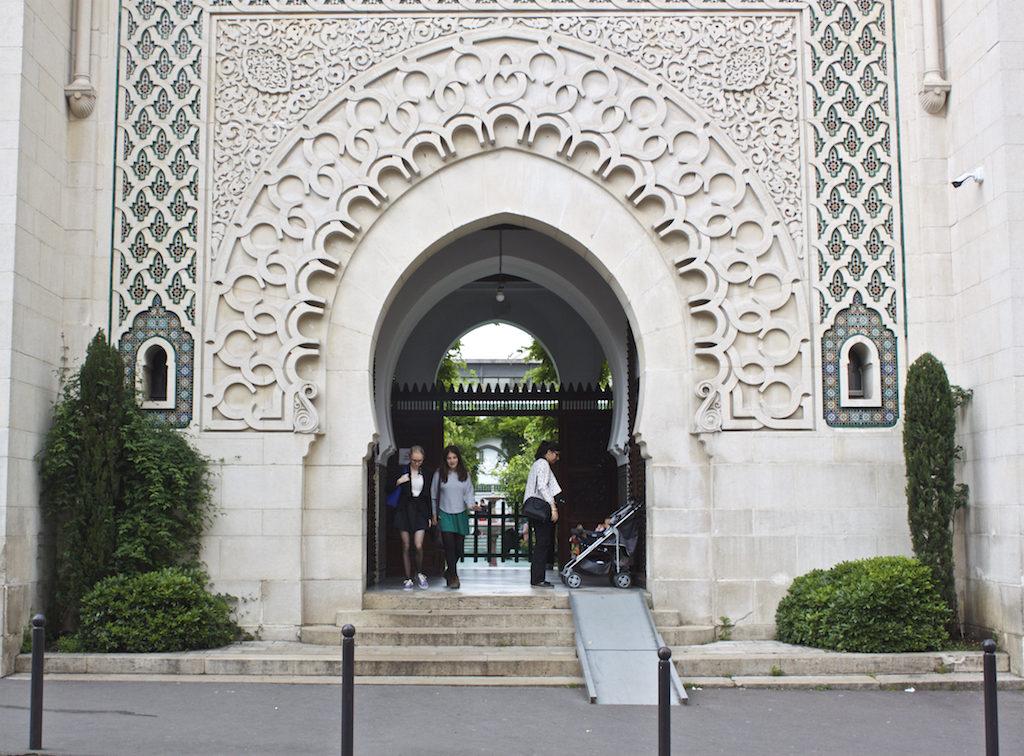 Paris Photos Grand Mosque Entrance