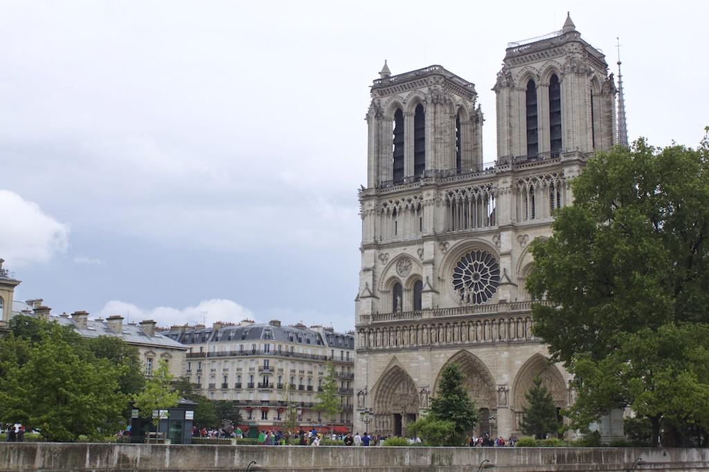 Paris Photos Notre-Dame de Paris Side View