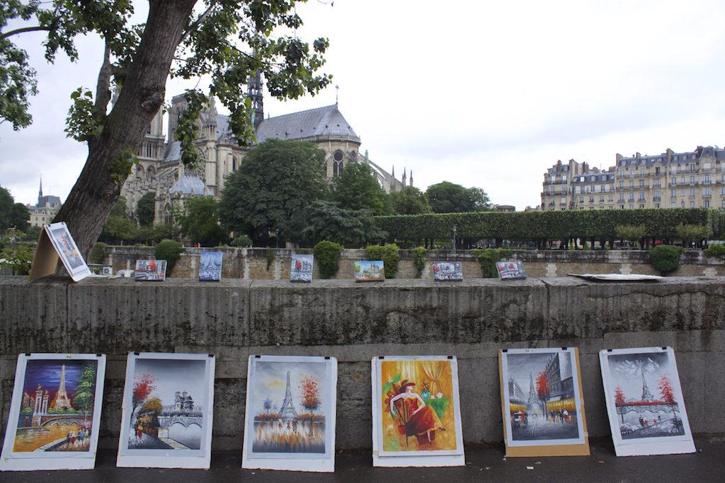 Paris Photos - Paintings Seine