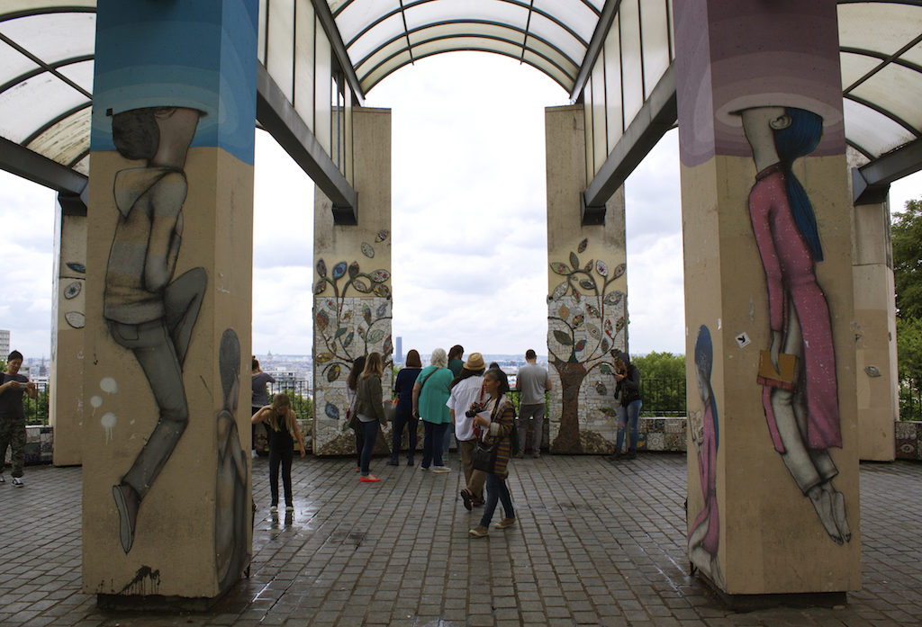 Paris Photos Parc de Belleville Lookout