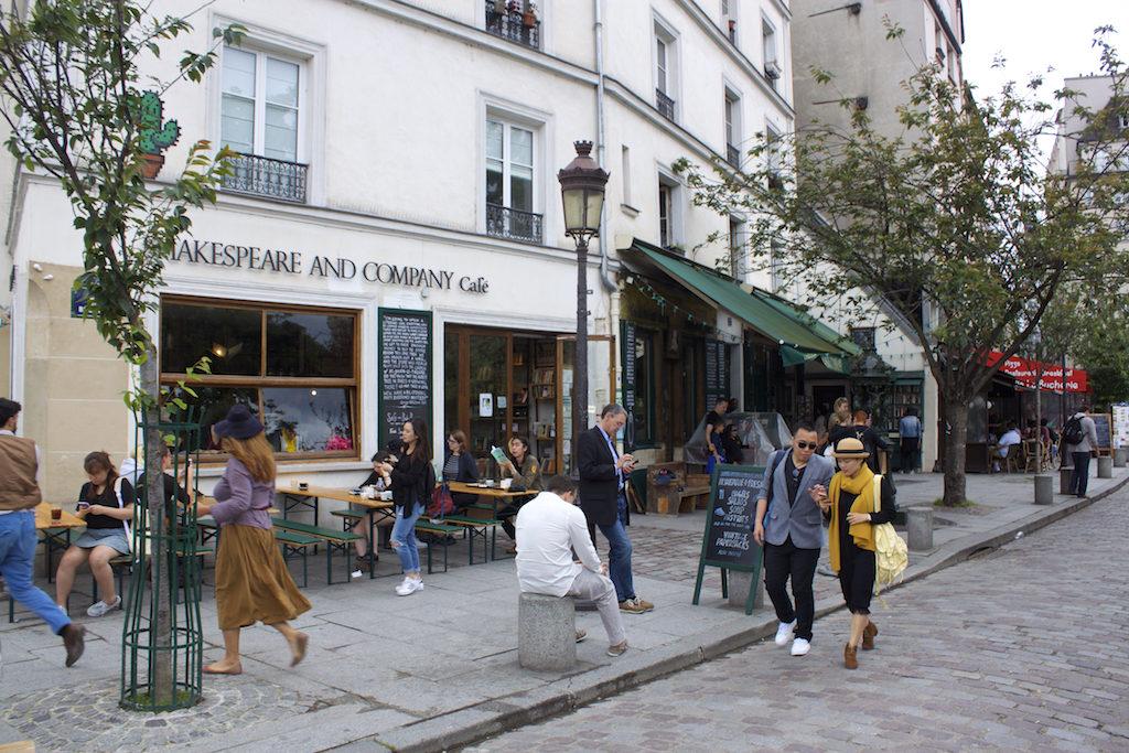 Paris Photos - Shakespeare and Company Cafe