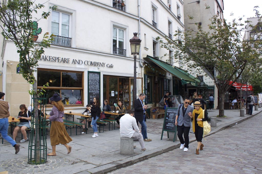 Paris Photos - Shakespeare and Company Cafe