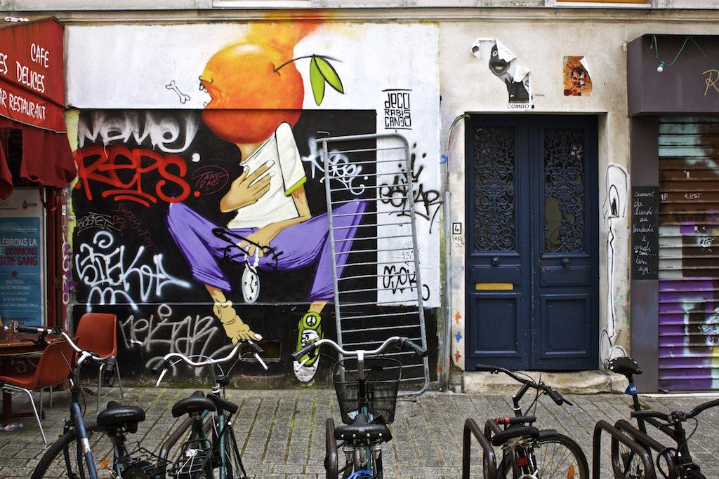 Paris Photos - Street Art Belleville