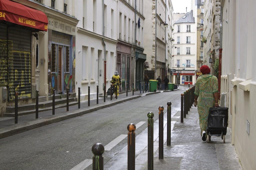 Paris Photos Streets of Belleville