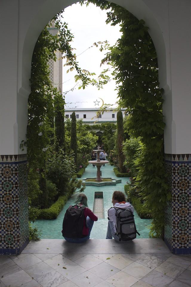 Paris Photos The Grande Mosquee de Paris Garden