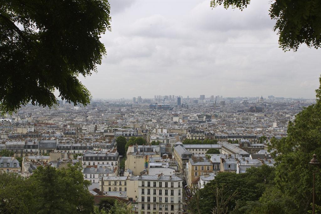 Paris Photos - View from the Sacre Cour