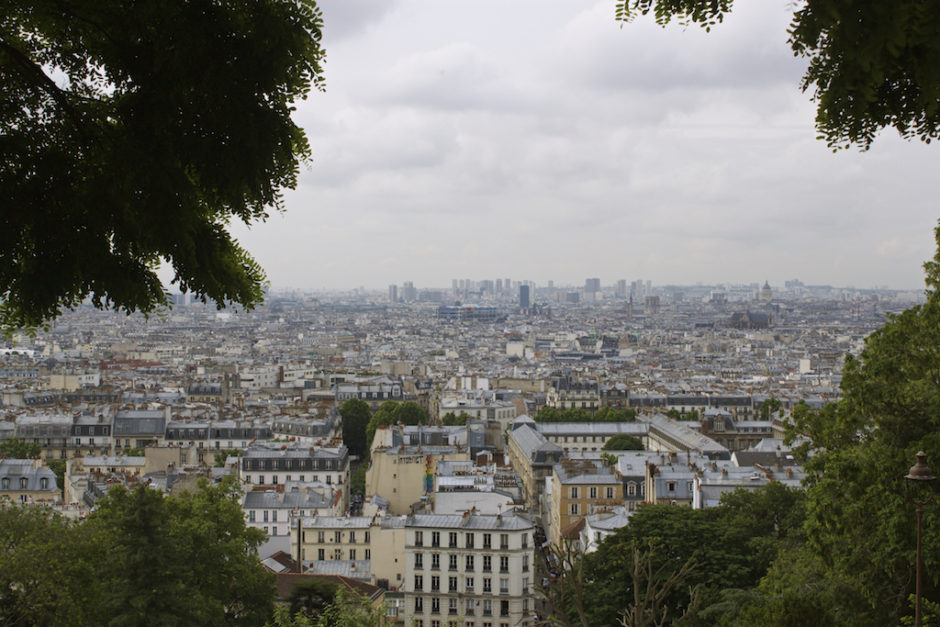 Paris Photos - View from the Sacre Cour