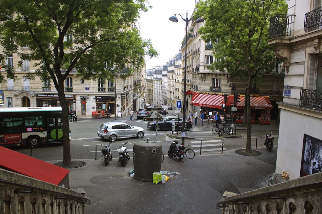 Paris Photos View in Montmartre