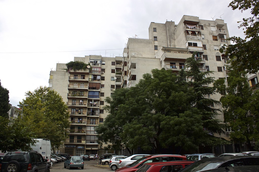 Visit Podgorica Communist Bloc Apartment Buildings.