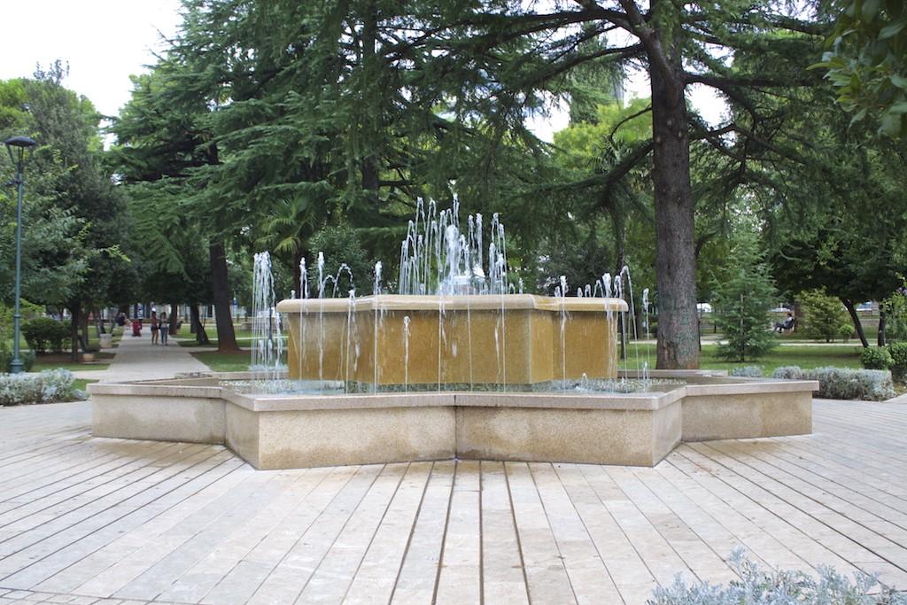 Visit Podgorica Kings Park Fountain