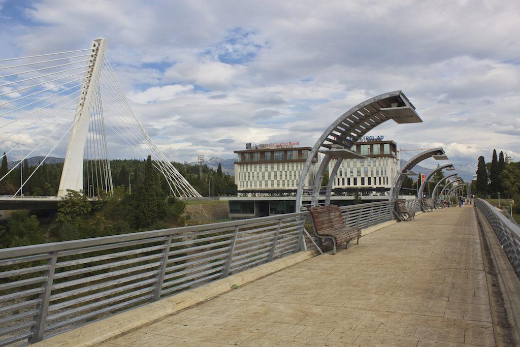 Visit Podgorica Millenium Bridge United Nations Pedestrian Walkway