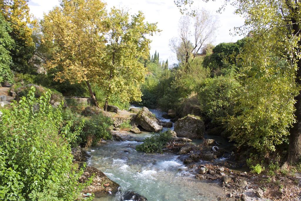Visit Podgorica River Scene Ribnica Bridge