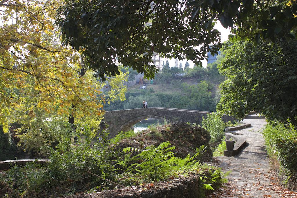 Visit Podgorica River Scene Old Bridge