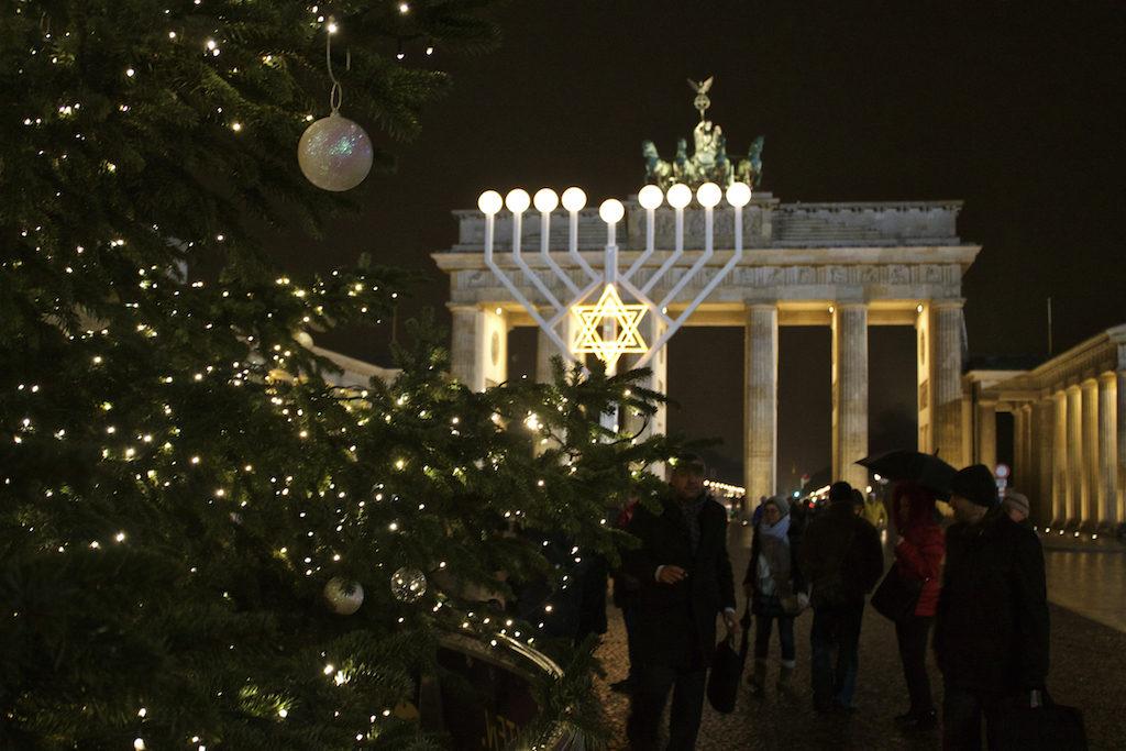 Brandenburger Tor at Christmas - Celebrating Diversity