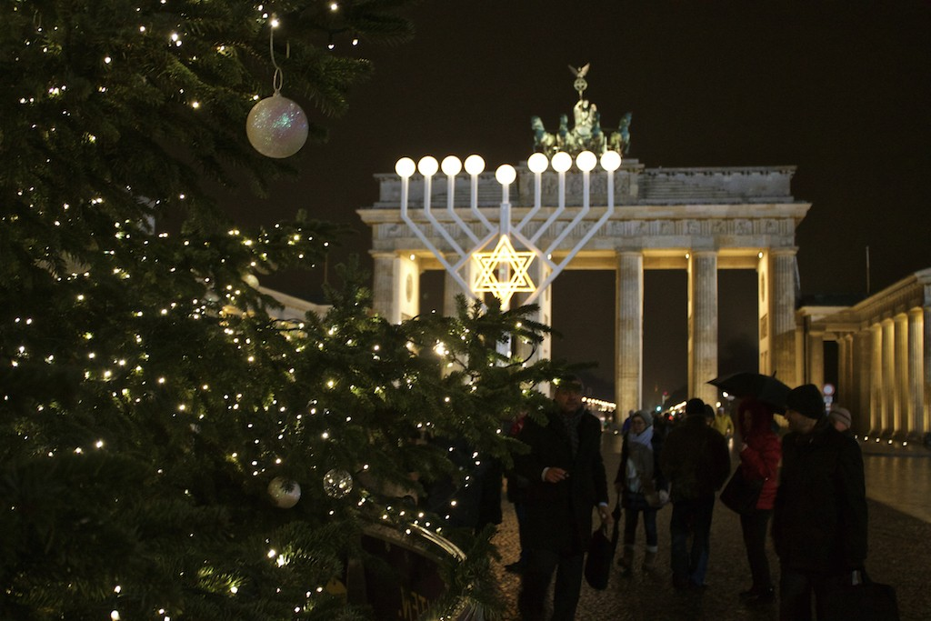 Brandenburger Tor at Christmas - Celebrating Diversity