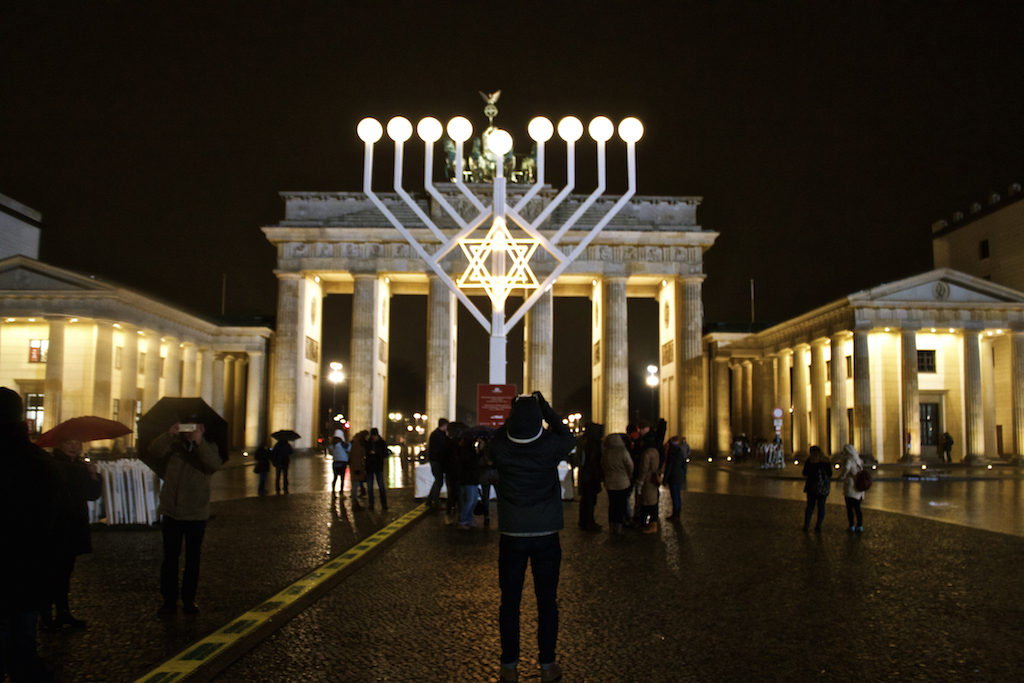 Brandenburger Tor at Christmas - Center View