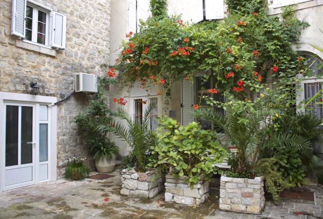 Budva Old Town - Courtyard