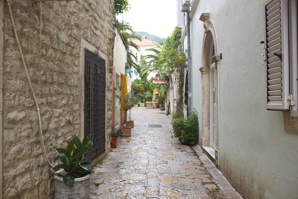 Budva Old Town - Empty Streets