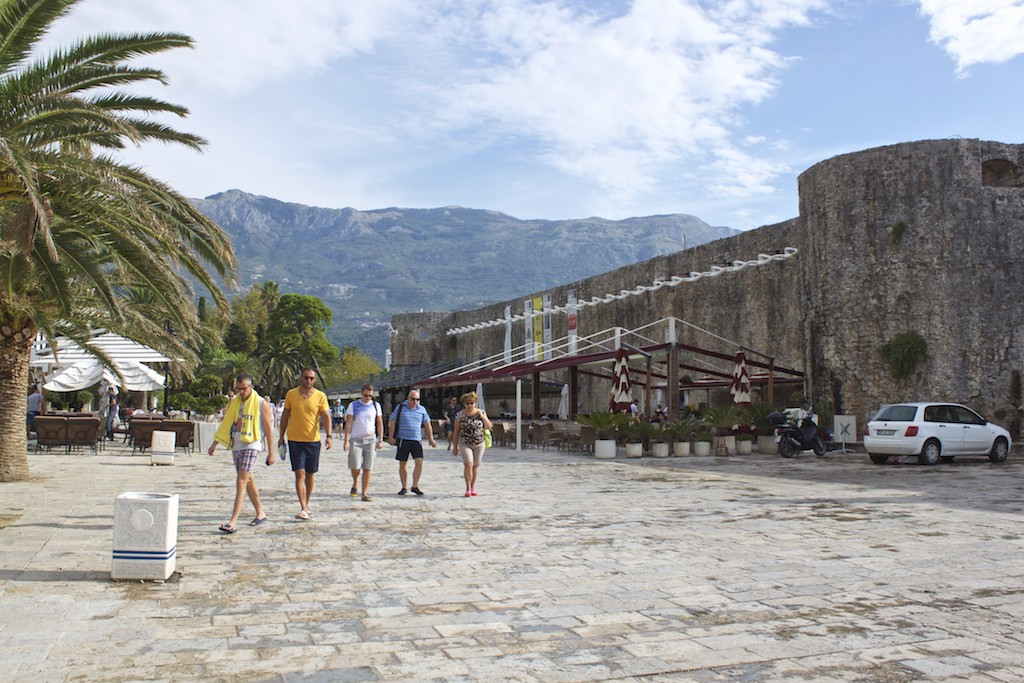 Budva Old Town - Old Town Walls