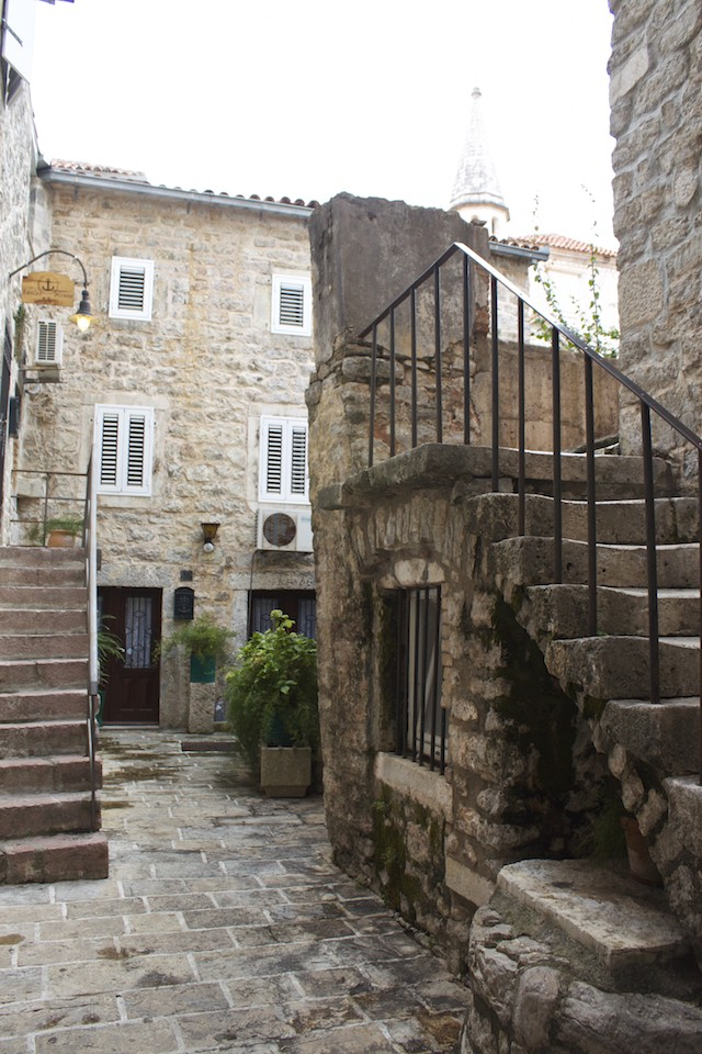 Budva Old Town - Stairs