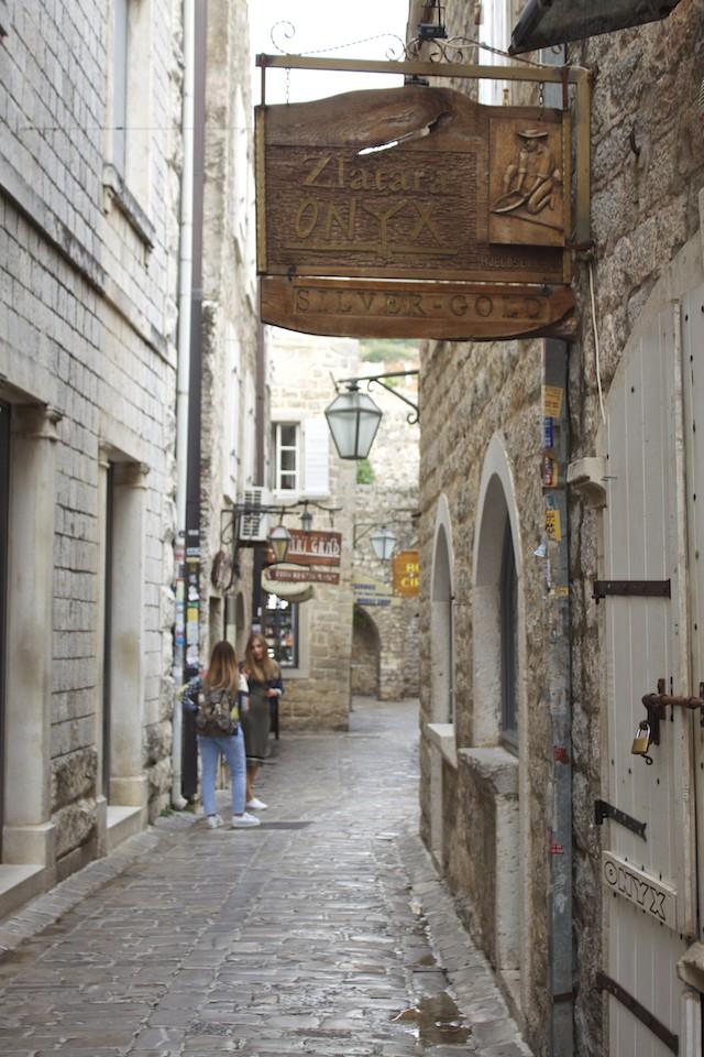 Budva Old Town - Streets