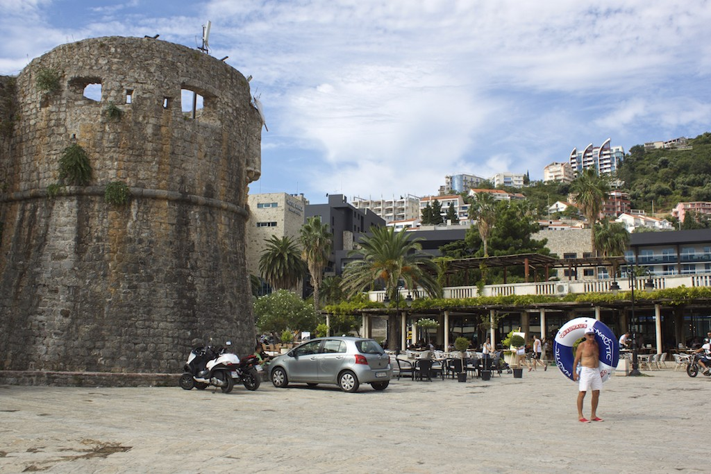 Budva Old Town - Tower