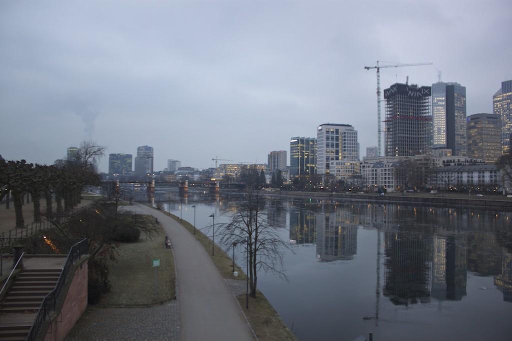 Frankfurt Photos - Main River Skyline View