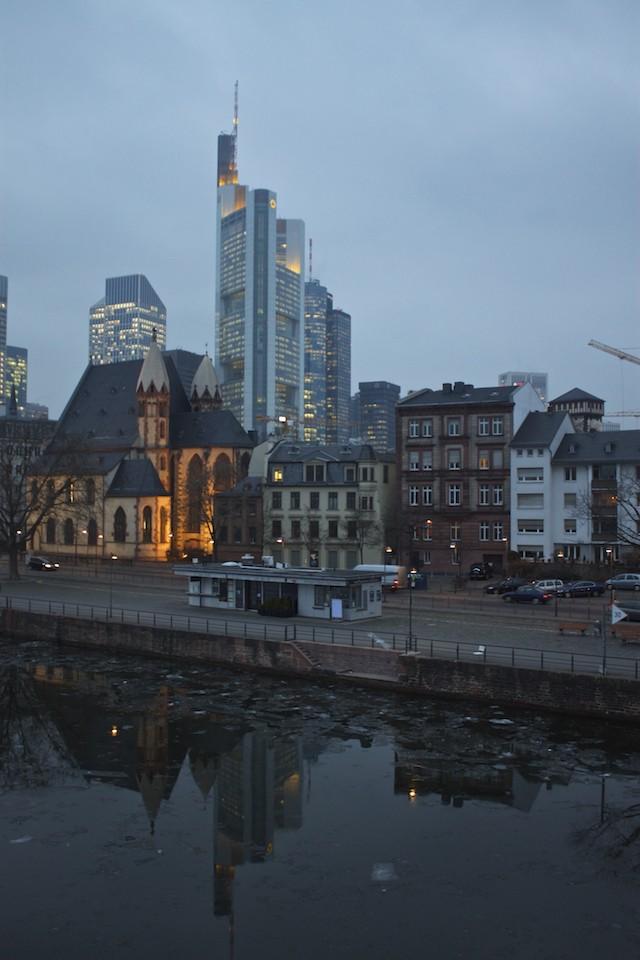 Frankfurt Photos - Old vs New Contrast Architecture
