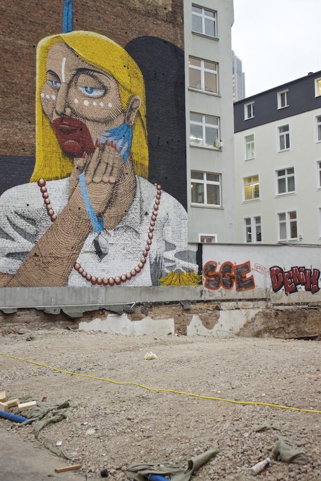 Frankfurt Photos - Street Art Mural Bahnhofsviertel