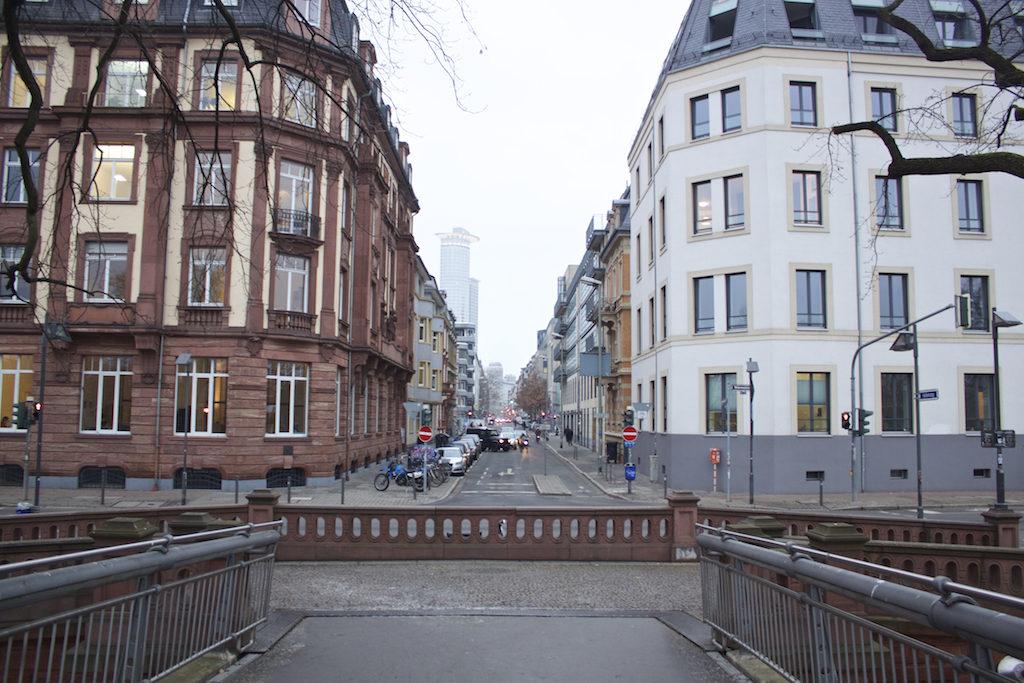 Frankfurt Photos - View From Holbeinsteg