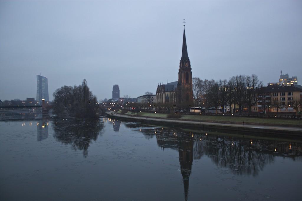 Frankfurt Photos - View from Eiserner Steg