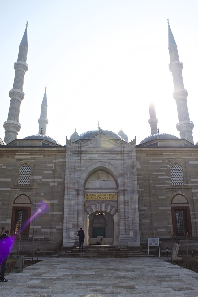 Things To Do in Edirne Turkey - Selimiye Mosque Entrance