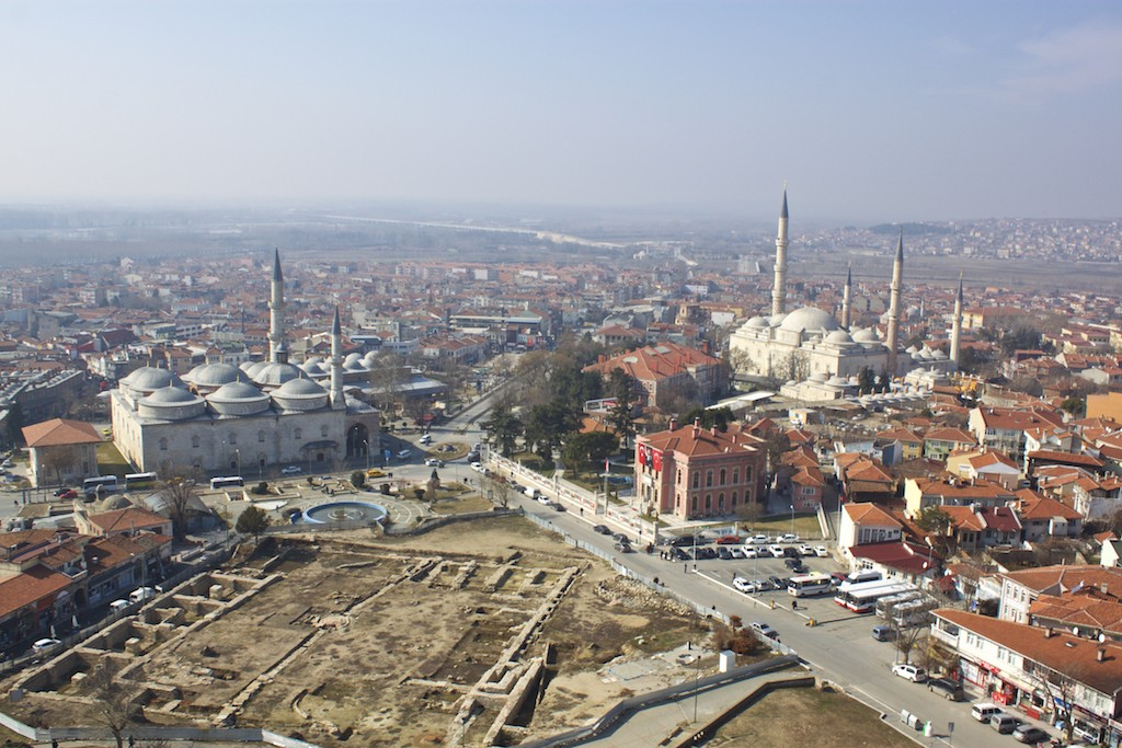 Things To Do in Edirne Turkey - Selimiye Mosque Looking Over Edirne