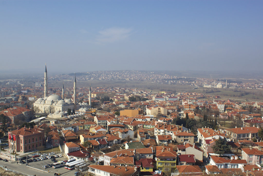 Things To Do in Edirne Turkey - Selimiye Mosque View Over Edirne