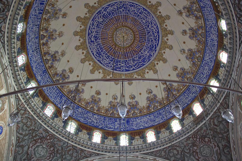 Things To Do in Edirne Turkey - Sultan Beyazıt II Mosque Ceiling Dome
