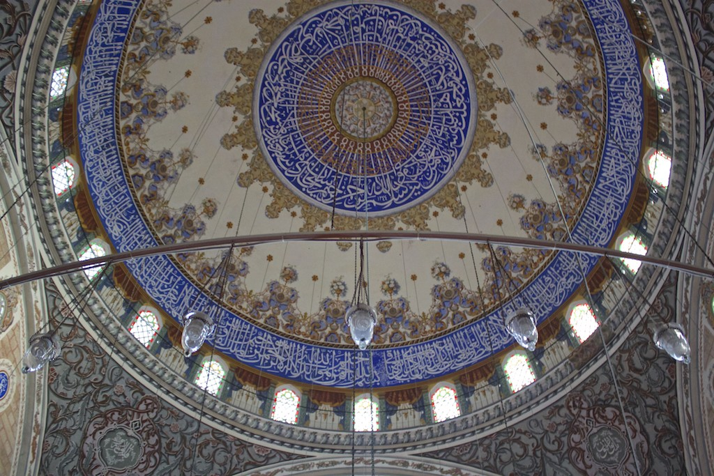 Things To Do in Edirne Turkey - Sultan Beyazıt II Mosque Ceiling Dome