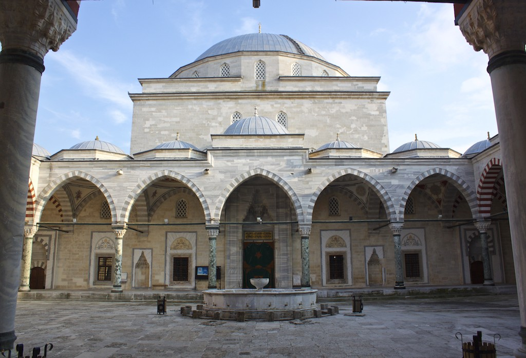 Things To Do in Edirne Turkey - Sultan Beyazıt II Mosque Courtyard