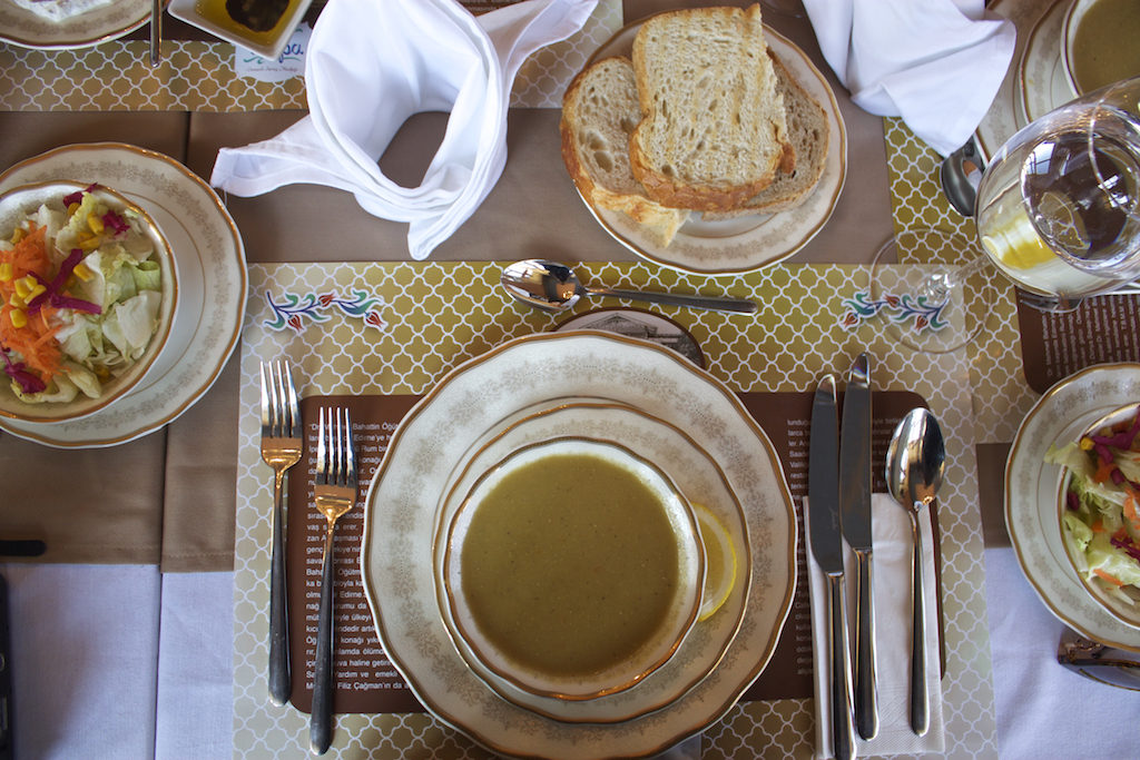 Things To Do in Edirne Turkey - Tulipa Cafe and Restaurant Lentil Soup and Salad