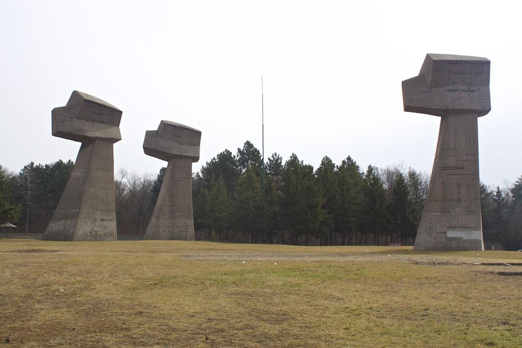 Visit Nis Serbia - Bubanj Memorial Park Three Fists