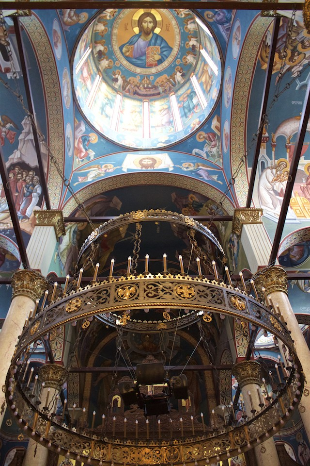 Visit Nis Serbia - Holy Trinity Cathedral Ceiling
