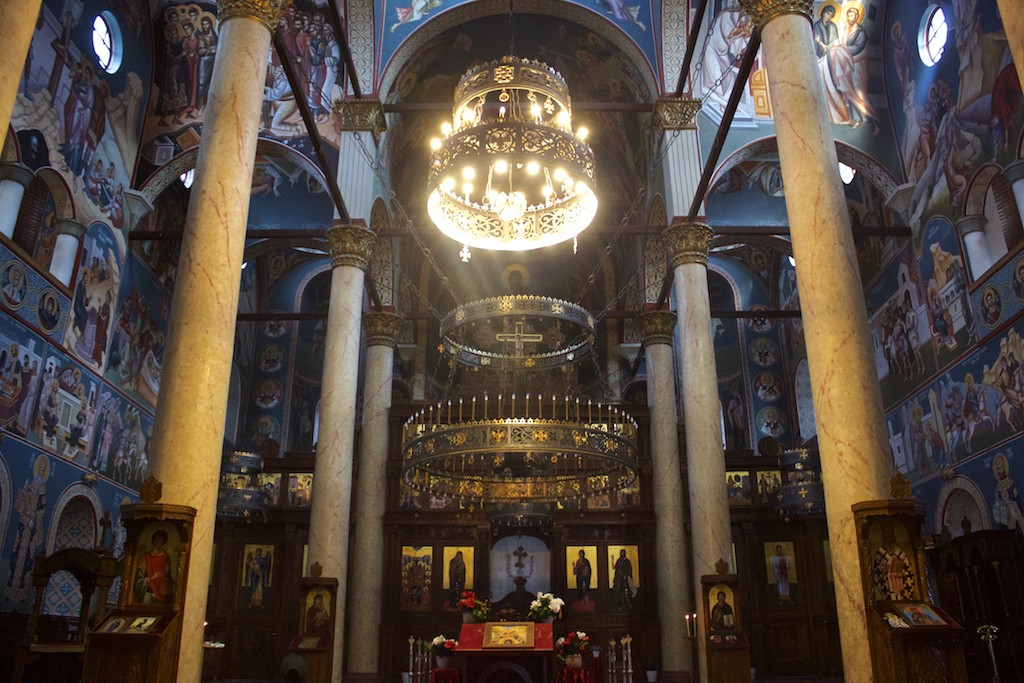 Visit Nis Serbia - Holy Trinity Cathedral Interior View