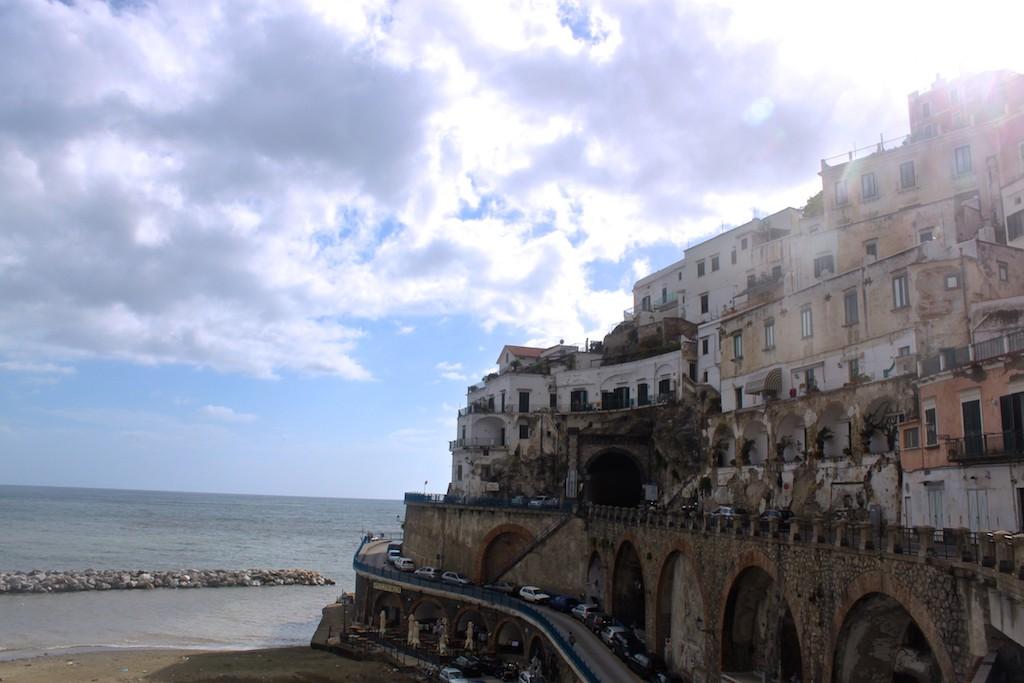 Amalfi Coast Photos - Amalfi Cliffs Sea