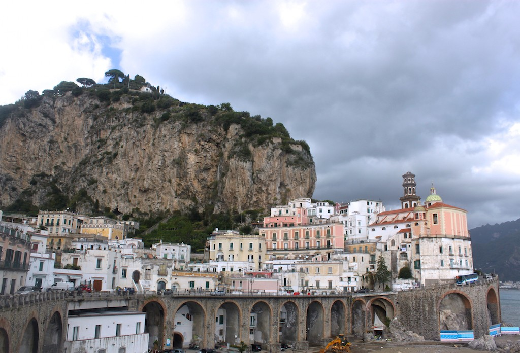Amalfi Coast Photos - Amalfi Town View