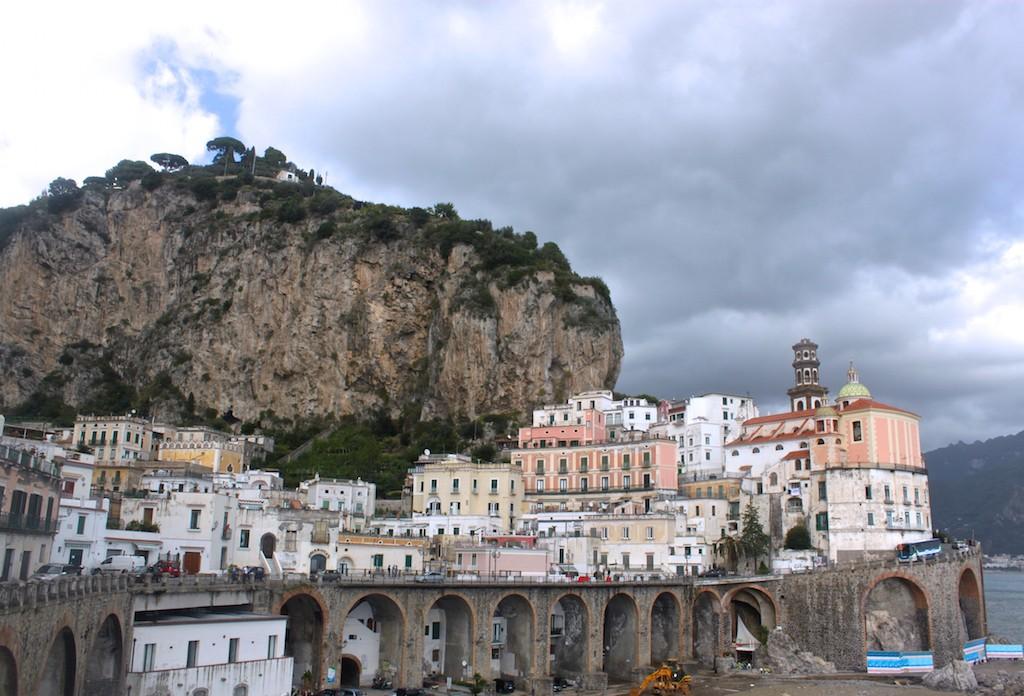 Amalfi Coast Photos - Amalfi Town View