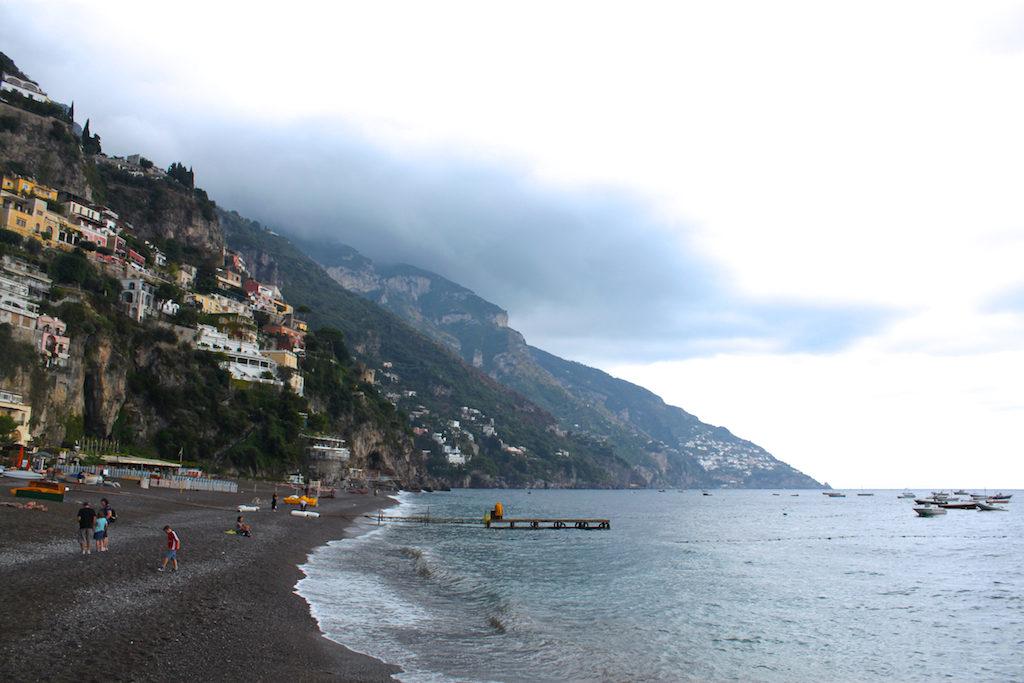 Amalfi Coast Photos - Positano Beach