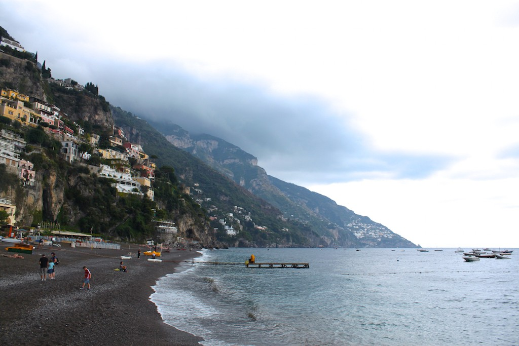 Amalfi Coast Photos - Positano Beach