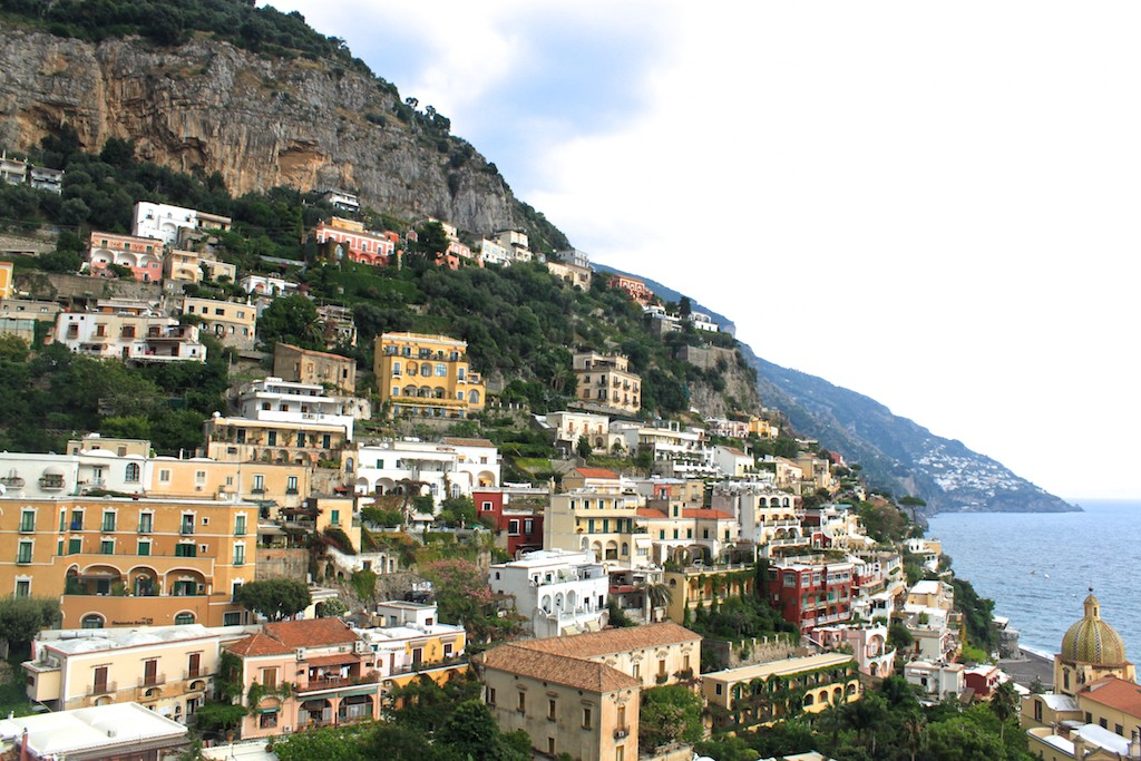 Amalfi Coast Photos - Positano View